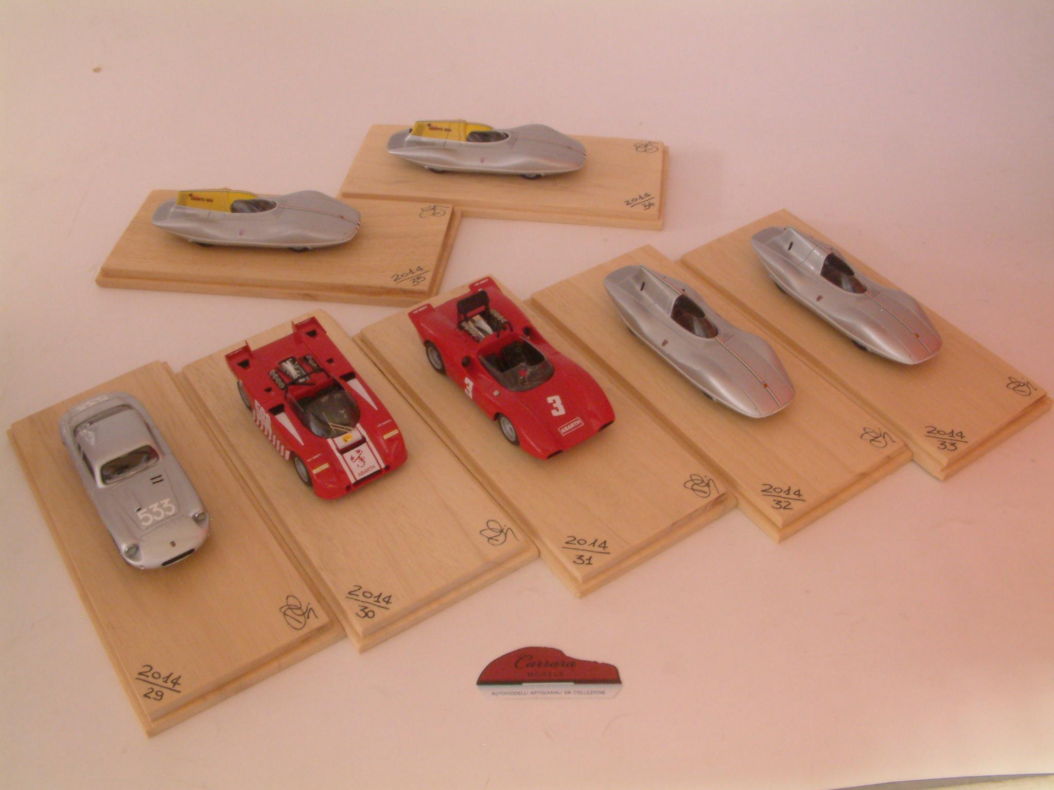 Cisitalia, Fiat Abarth 3000, Fiat 500 Abarth Record Monza