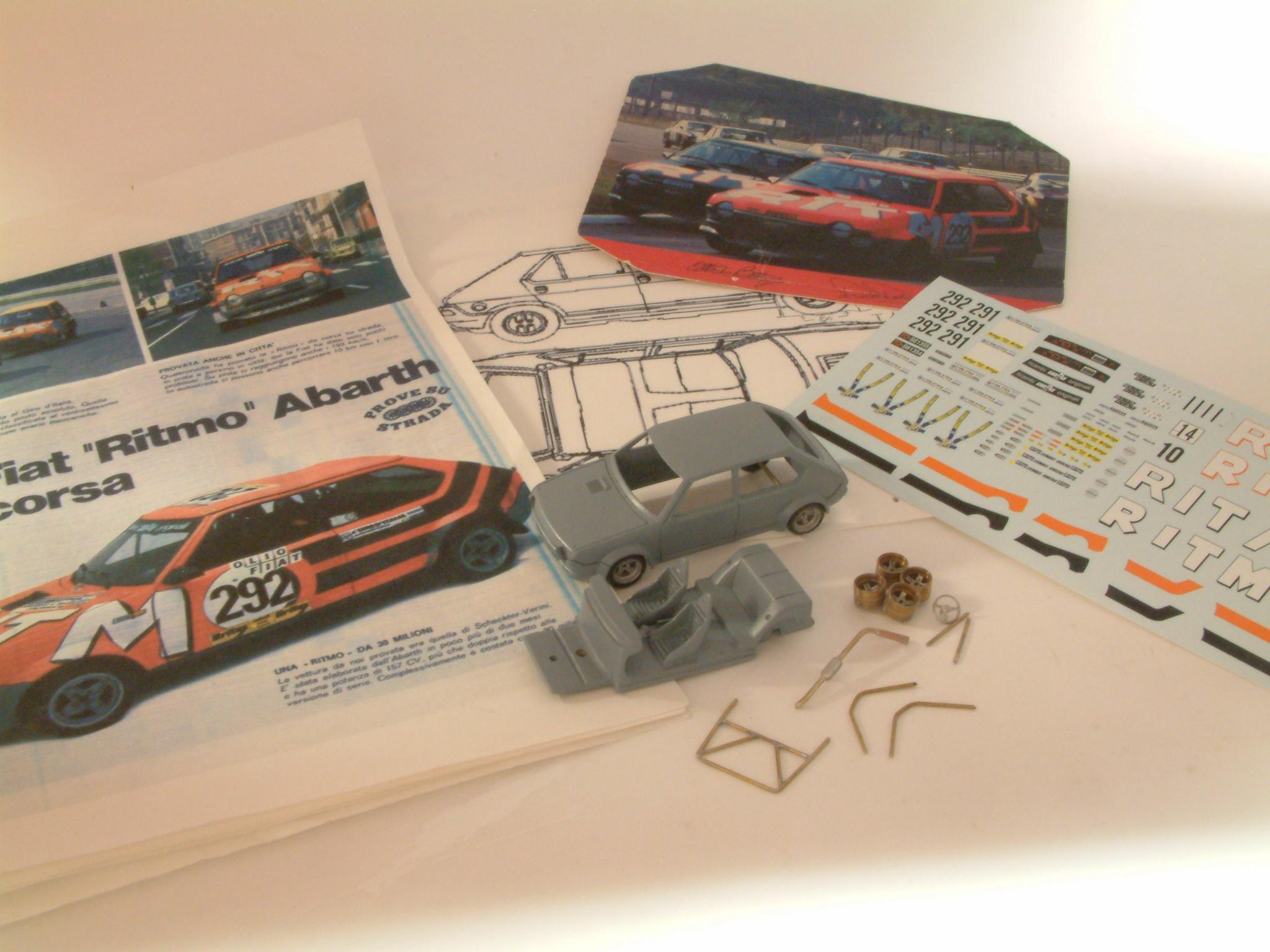 4 versioni, Giro d'Italia e Rally di Monza 1978