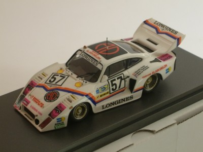 Porsche 935 3.0 L Turbo Gr. 5- Team C. Haldi / Charles Ivey Racing - #57 24 Hrs Le Mans 1981 - Built 1:43