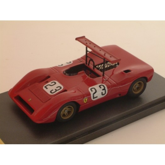 Ferrari 612 Can-Am #23 Chris Amos Stardust International Raceway 1968 - Standard Built 1:43