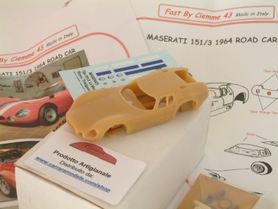 Kit Maserati 151 / 3 road car - stradale corsa 1964 - Resin Kit 1:43